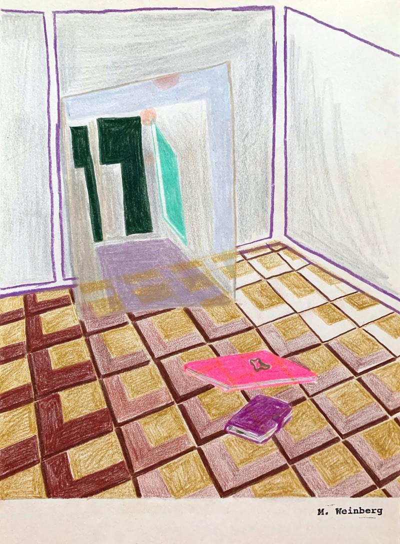Artwork – Painting, Diary, Calendar, 2020