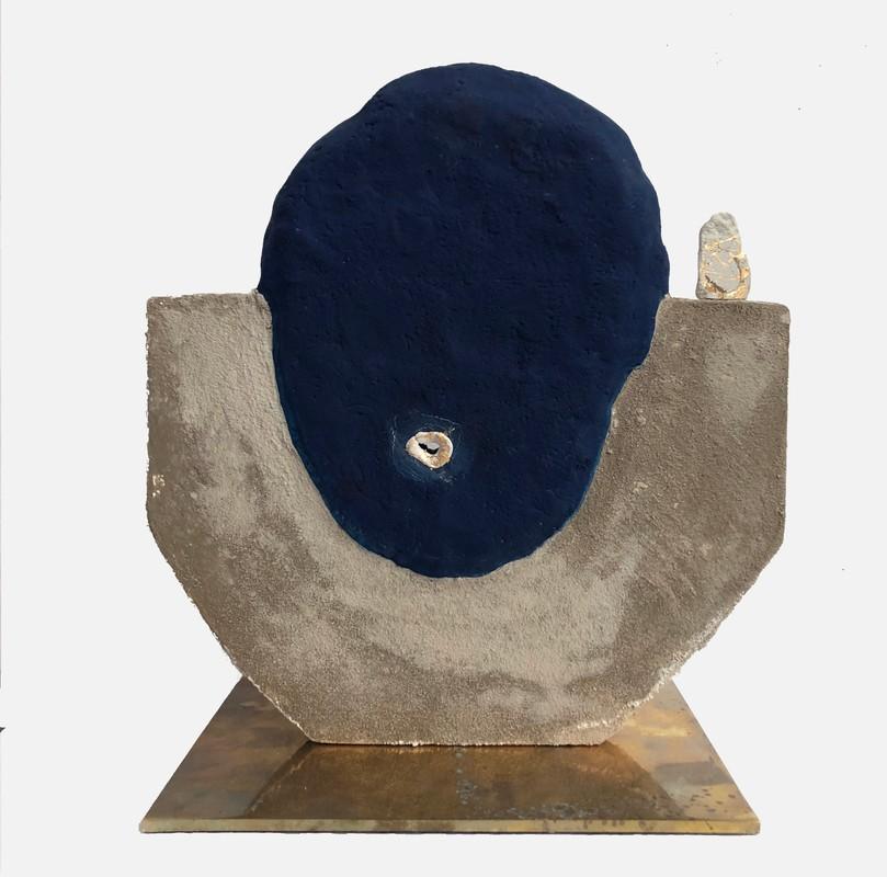 Artwork – Head (gold), 2019
