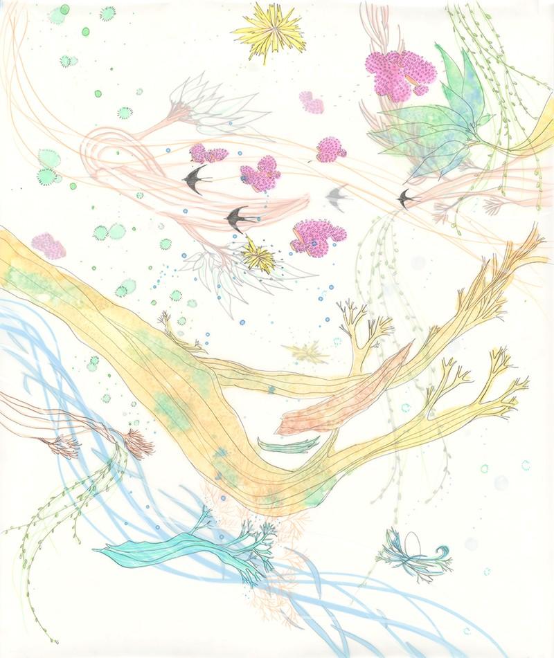 Artwork – Mountain Air IV (framed), 2018