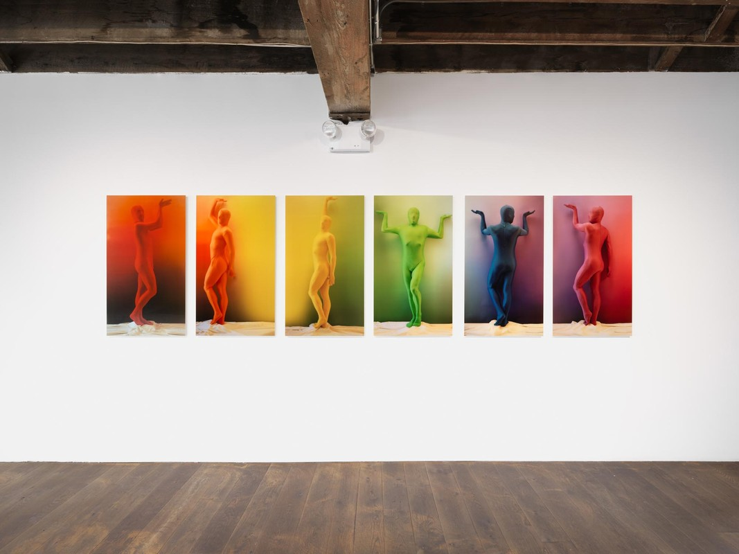 Artwork – orchid.RGB Color Spectrum 1-6, 2019