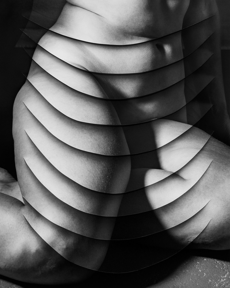 Artwork – Draped Woman (Loose Folds), 2018