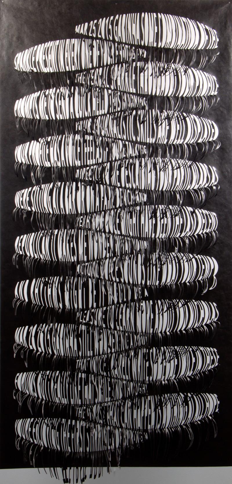 Artwork – Gabinha, from Left Hanging series, 2019