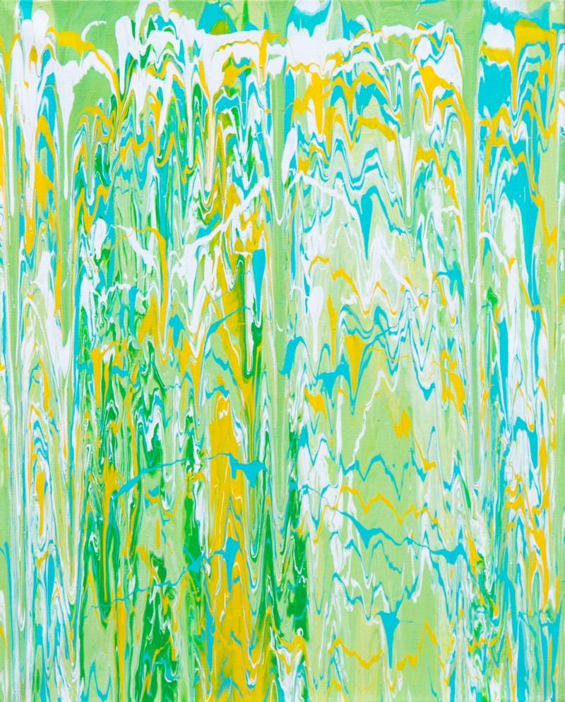 Artwork – Gravity Painting, 2018
