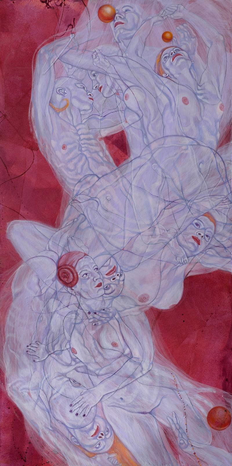 "Artwork – Sol Kjøk, ""Spiraling Smoke 13"", 2019"