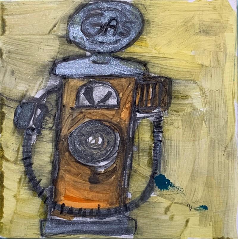 Artwork – Bianca Lott, The Lone Gasoline Pump, 2019