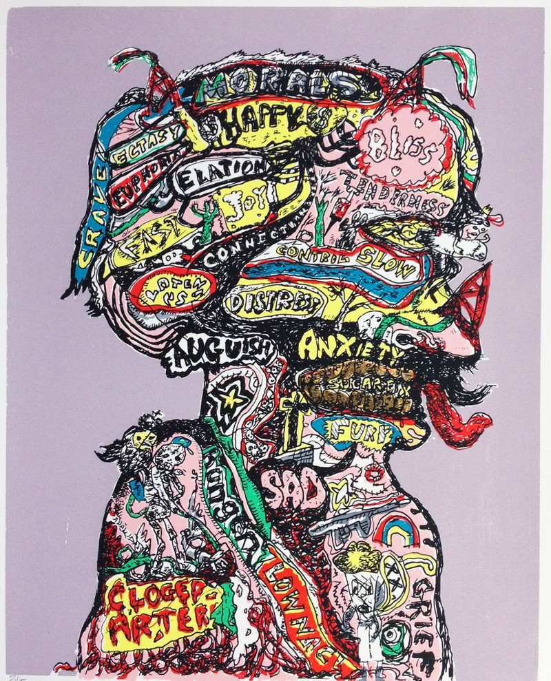 Artwork – The Phrenologist, 2013