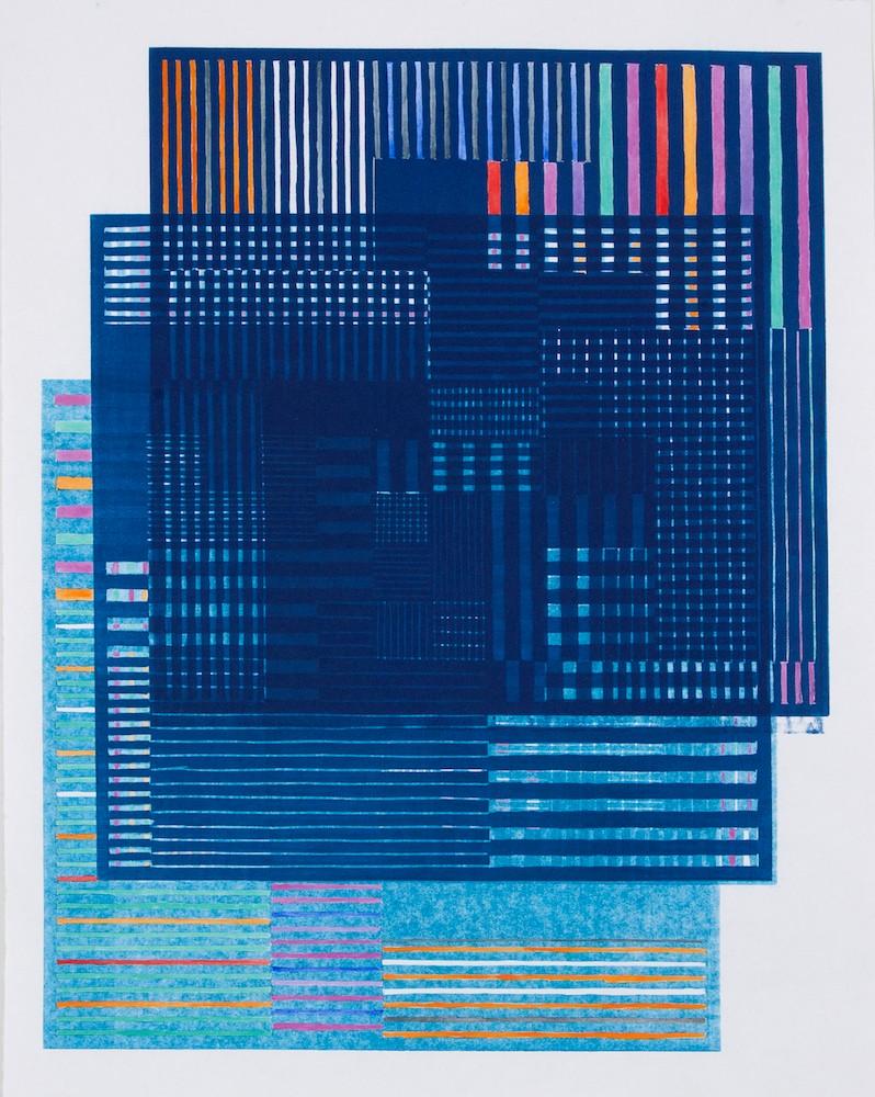 Artwork – Colorplay/Blue, 2018