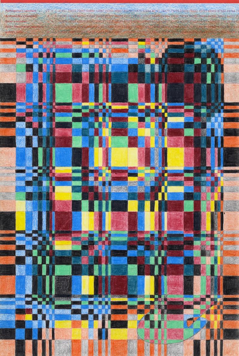 Artwork – Untitled pattern study, 2020