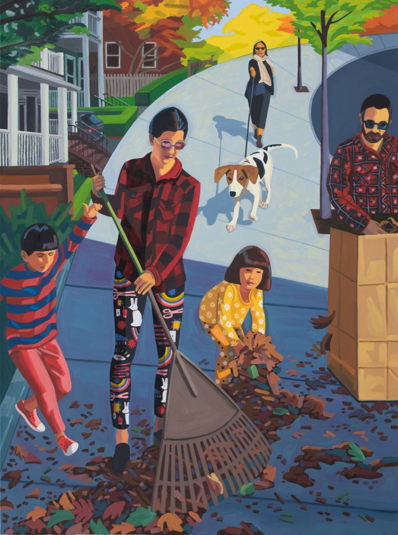 Artwork – Fall Clean Up, 2021