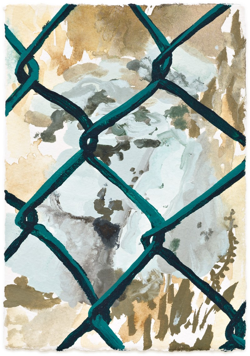 Artwork – Fence Study 1, 2017