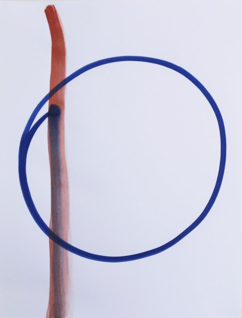 Artwork – Dot Orbit Line / Point orbite ligne, 2018