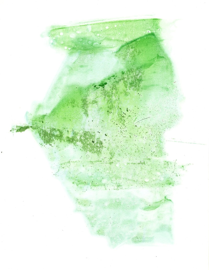 Artwork – Airy Green One, 2011