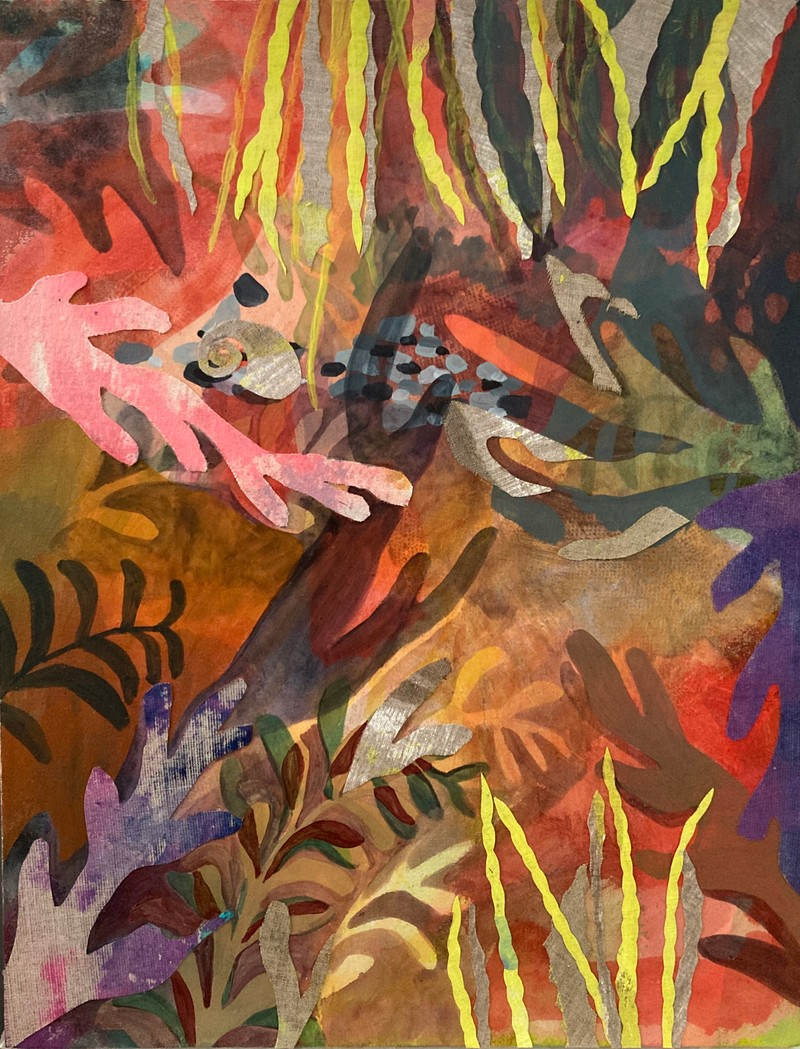 Artwork – Rocks and a Snail, 2020