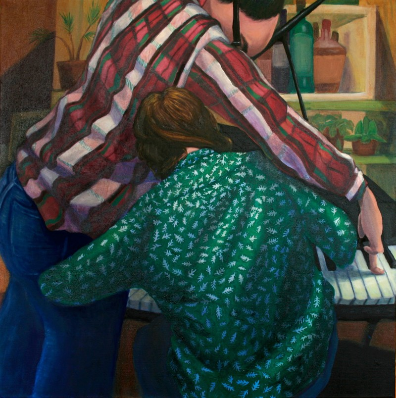 Artwork – The Piano Players, 2020