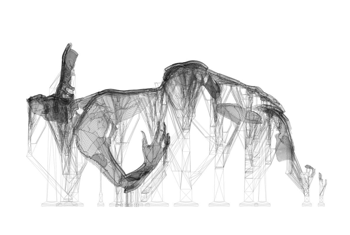 Artwork – Machines for Suffering I: Blueprint, 2019