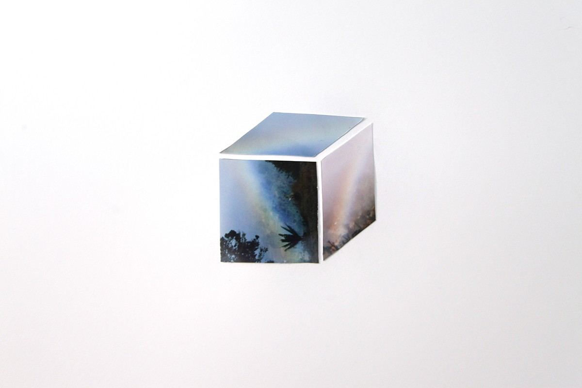 "Artwork – Francesca Simonite - ""Rainbow Cube"", 2019"