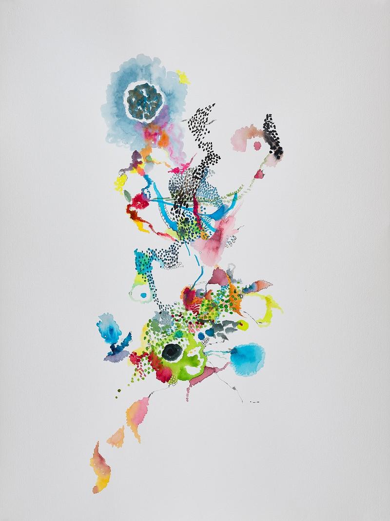 Artwork – blue galaxy, 2020