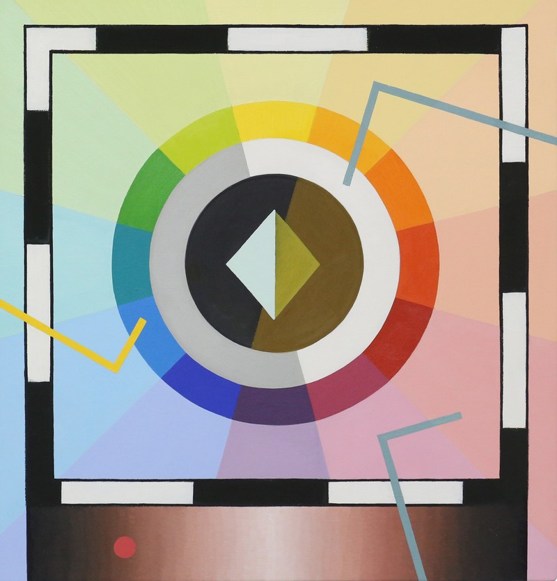 "Artwork – Stacie Johnson, ""Color Wheel"", 2016"