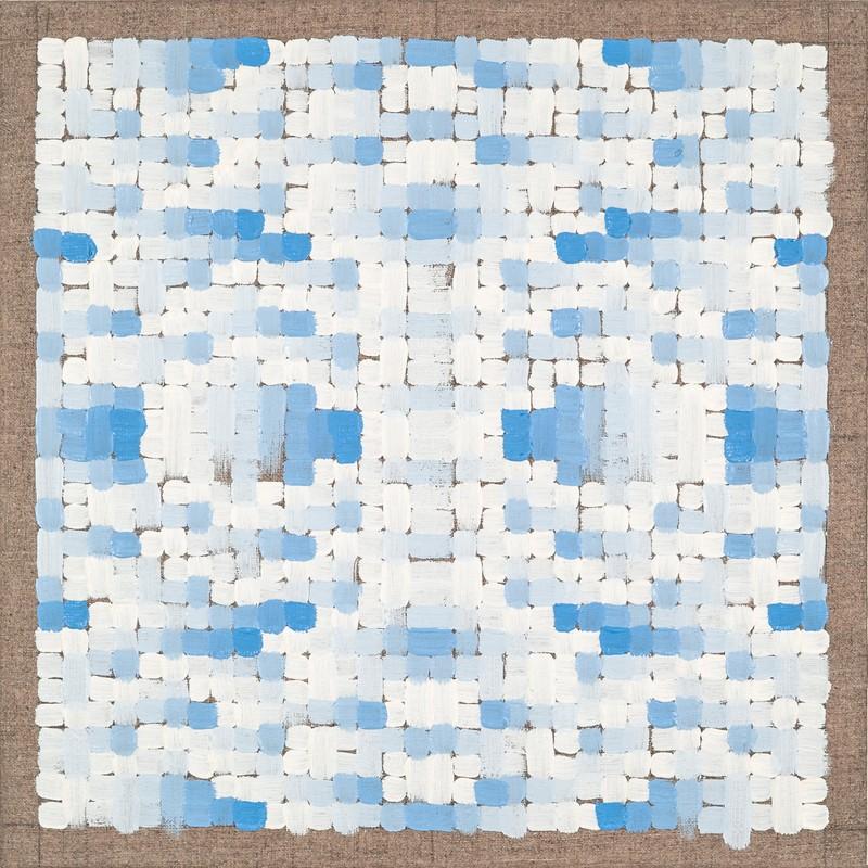 Artwork – Quadrilateral Grid 1 (Cobalt), 2019