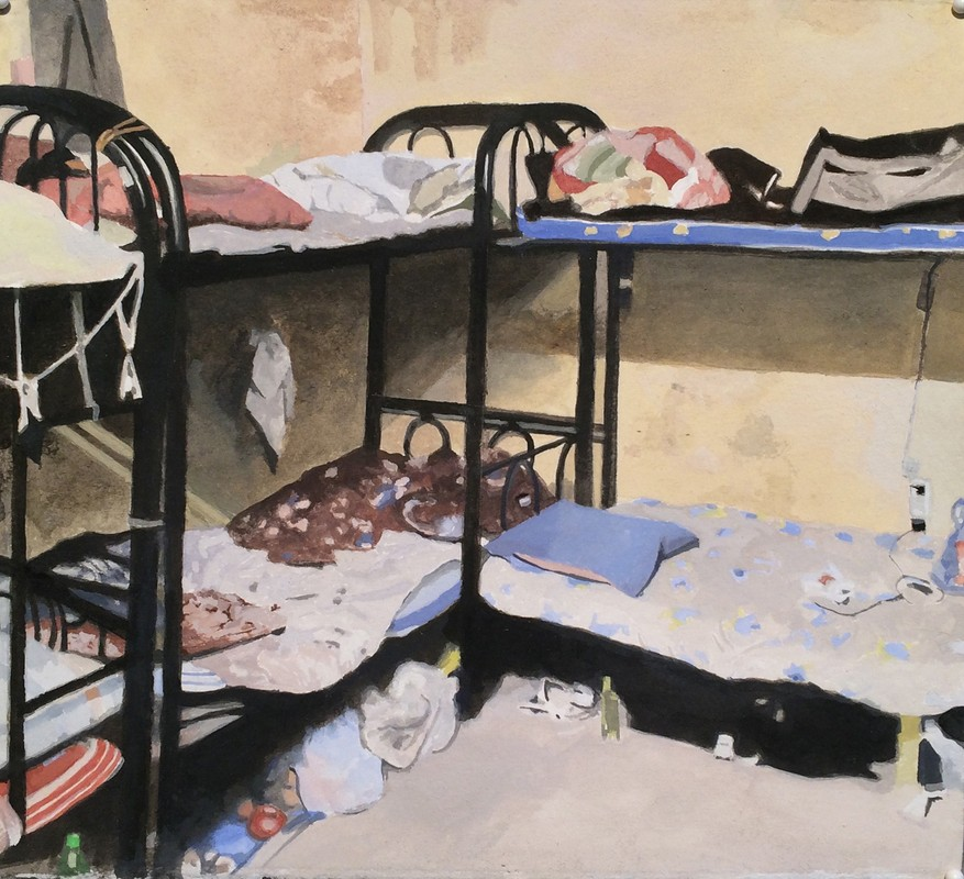 Artwork – Abu Dhabi(beds), 2018