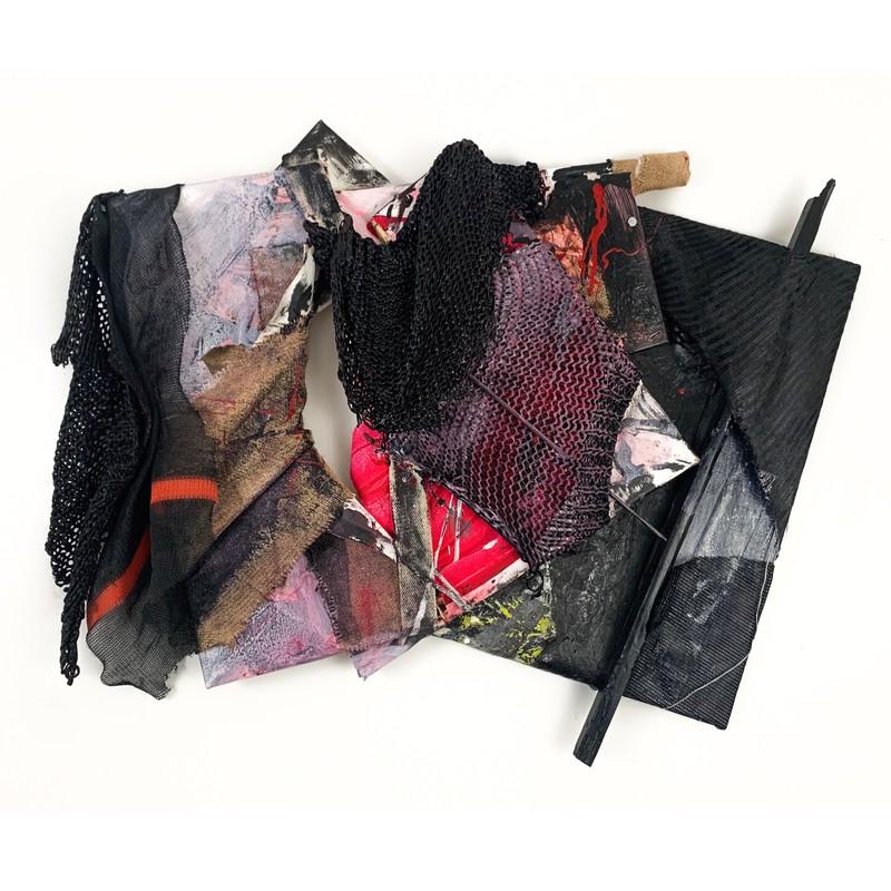 Artwork – Multi-Panel Assemblage 7 (Odyssey), 2019