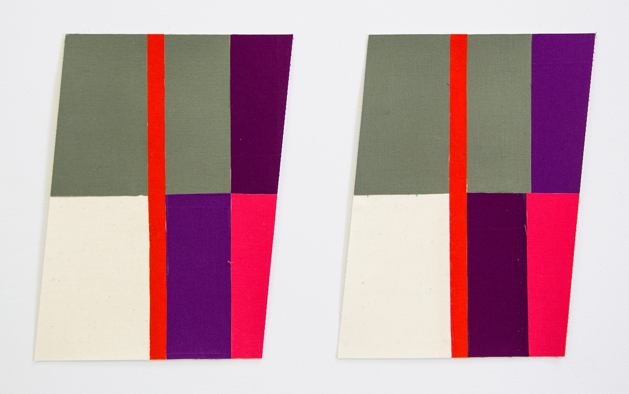 Artwork – Flagettes, No. 1 (Diptych), 2018