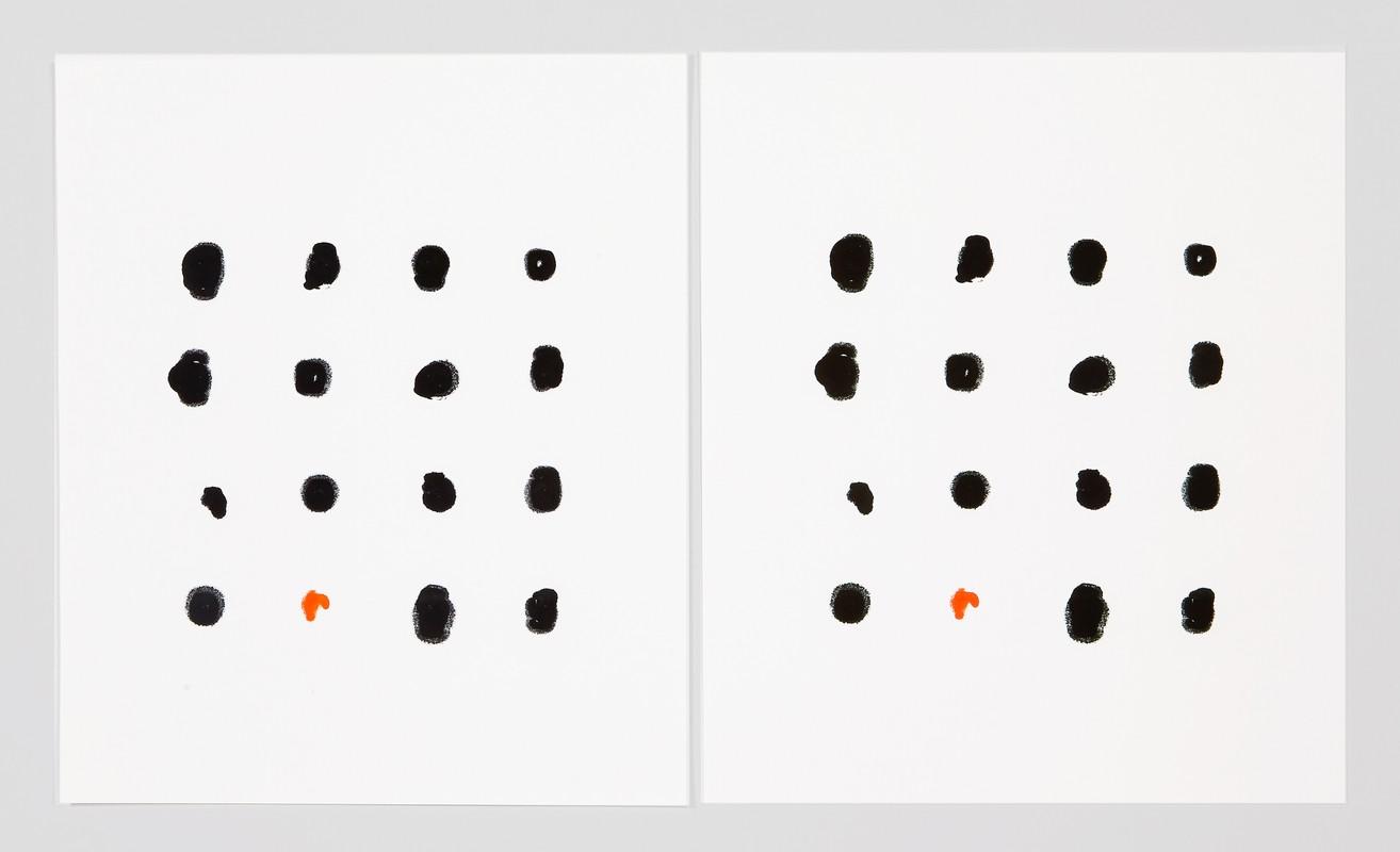Artwork – Epson Stylus Photo R 1900 15 Black, 1 Orange (Liz), 2018
