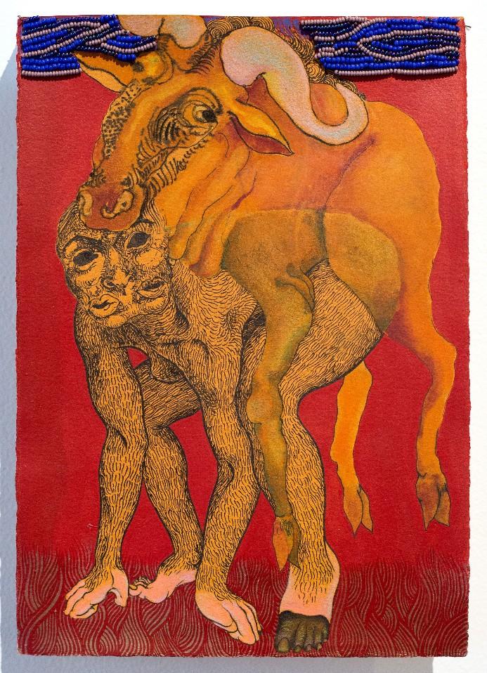 Artwork – Self Portrait as a Wildebeest, 2019