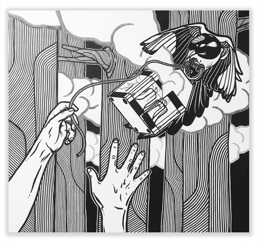 Artwork – The Theft, 2018