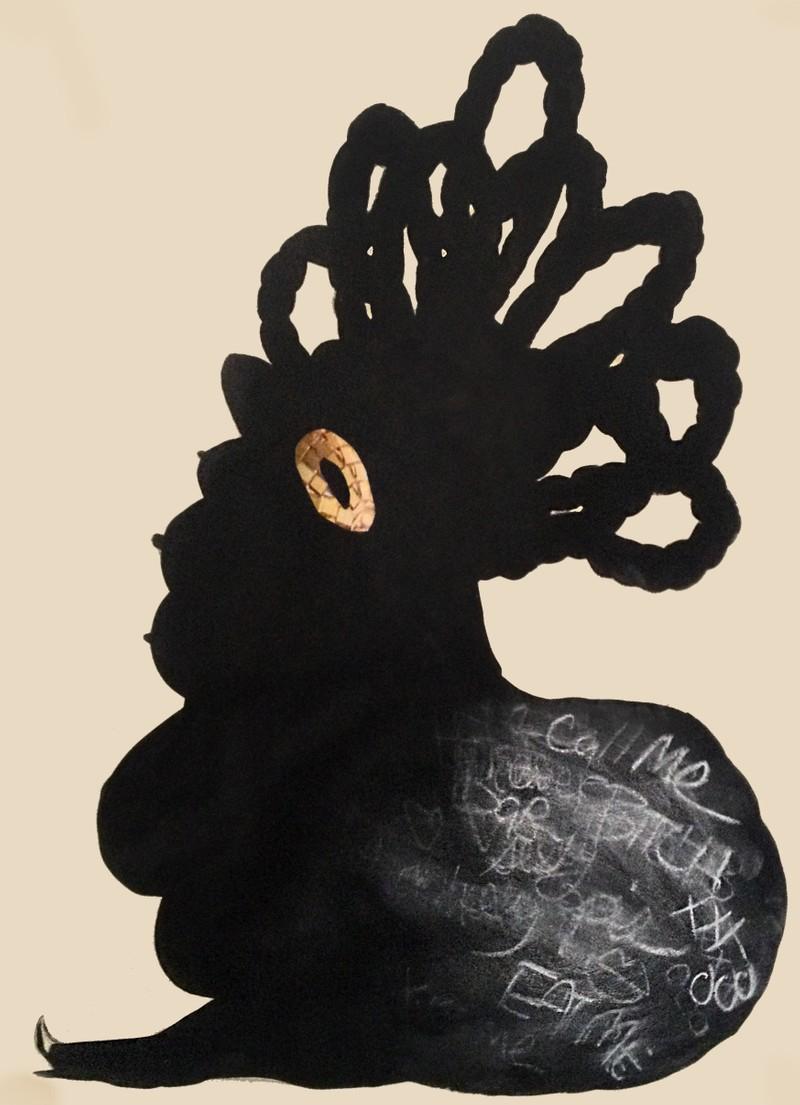 Artwork – Dirty Bottom Pin-Up, 2013