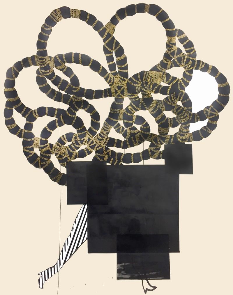 Artwork – Redaction of Stripes, 2018
