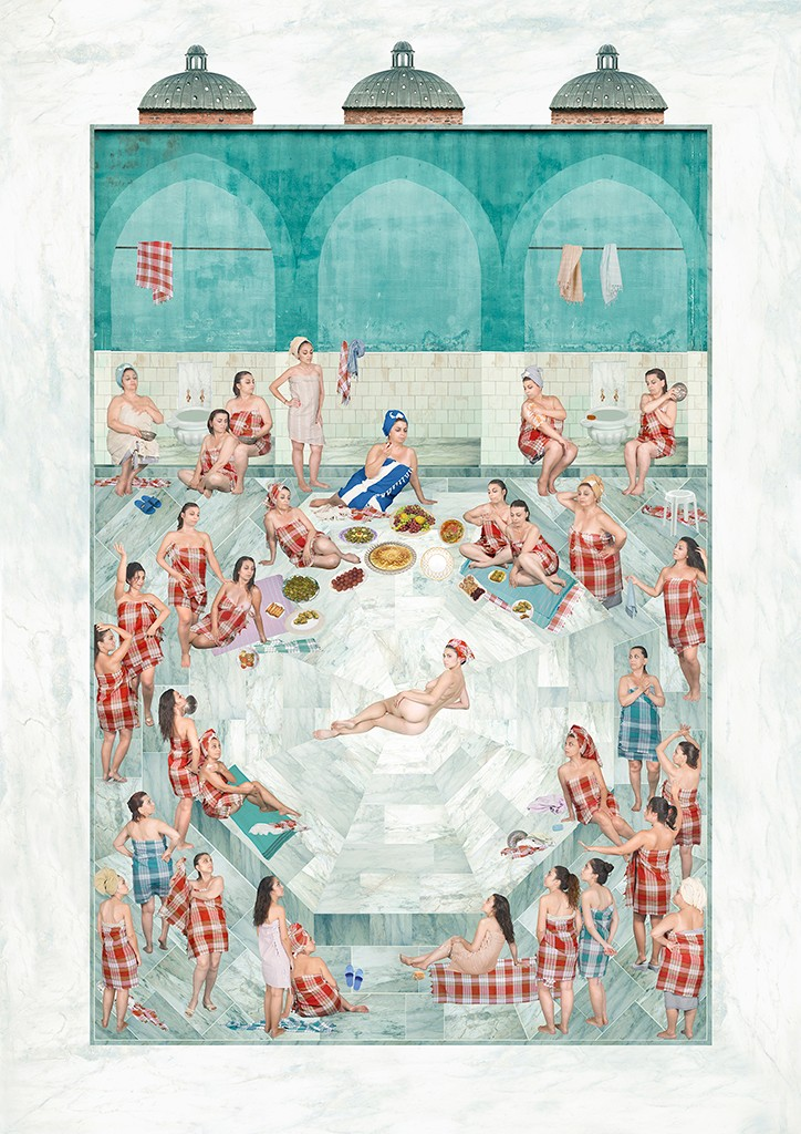 Artwork – Bridal Bath, Public Intimacy, 2015