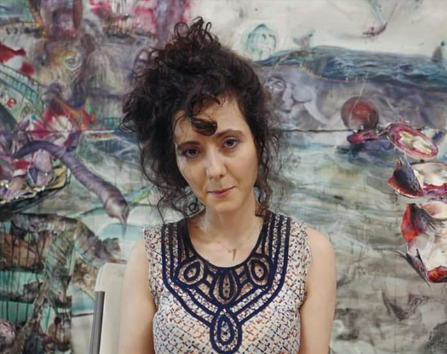 Artist Shiri Mordechay
