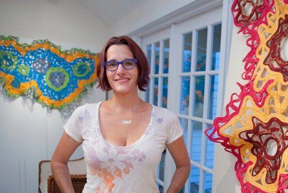 Artist Regina Jestrow
