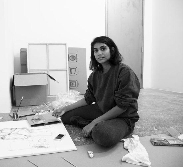 Artist Maya Varadaraj