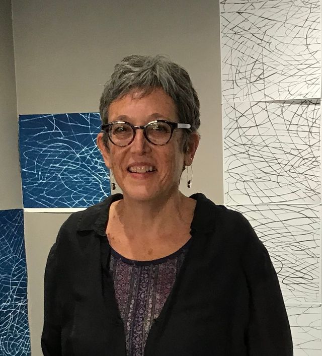 Artist Marsha Goldberg