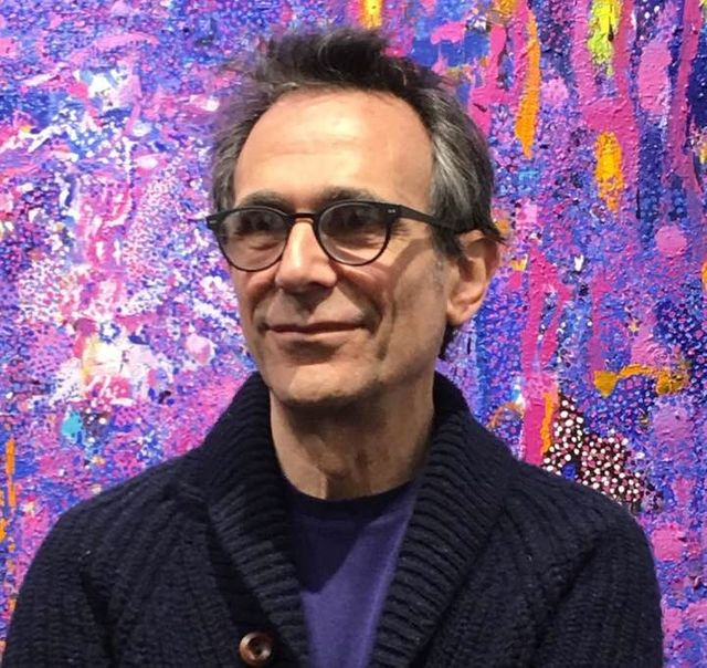 Artist Eric Holzman