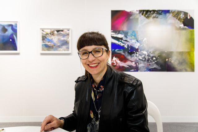 Artist Hedwig Brouckaert