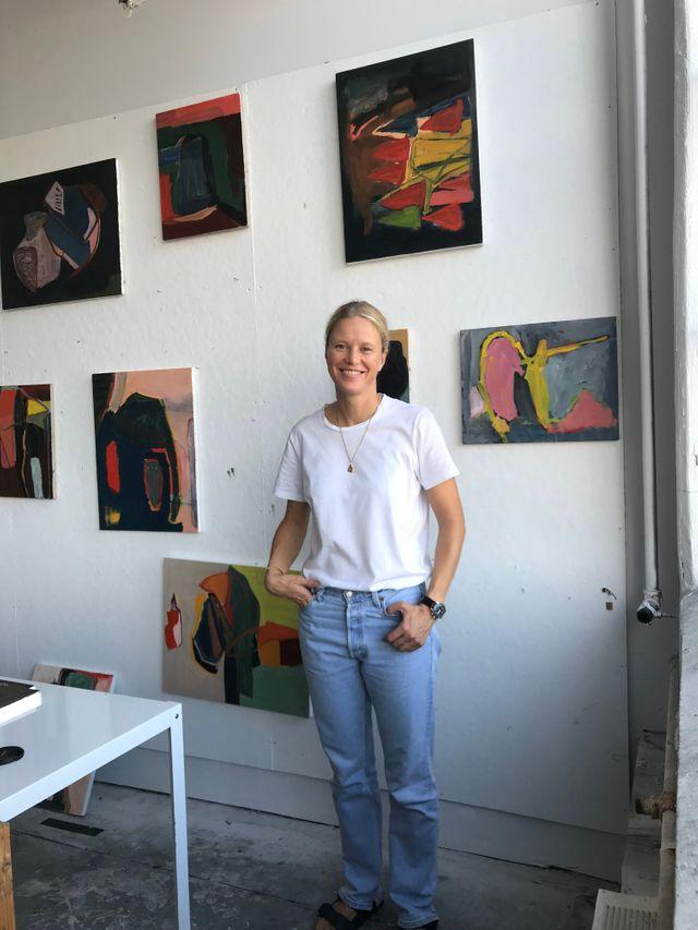 Artist Anna Bauer