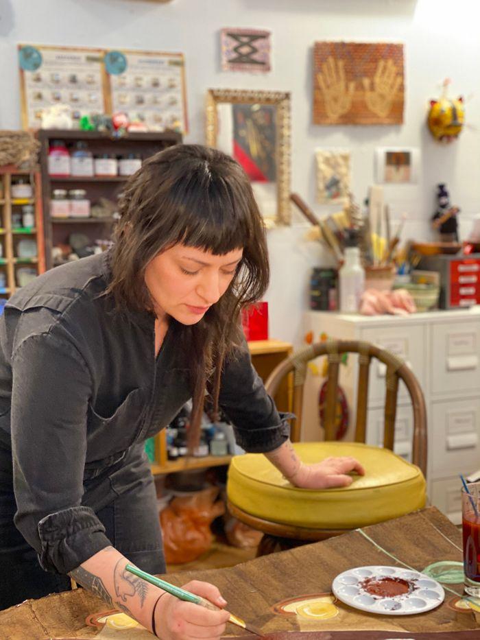 Artist Julia Norton