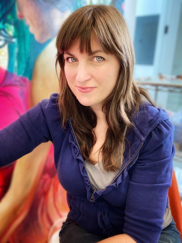 Artist Angela Fraleigh