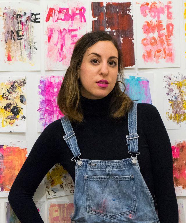 Artist Audrée Anid