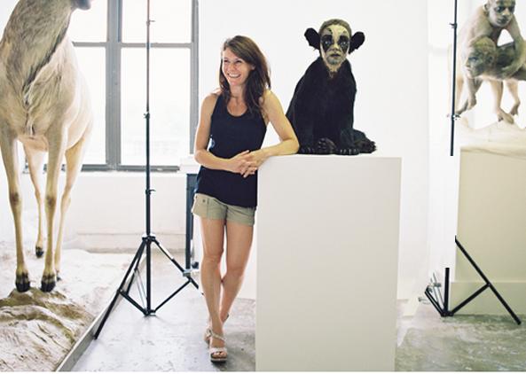 Artist Kate Clark