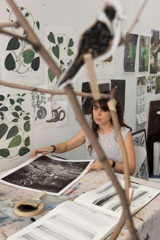 Artist Tatiana Arocha