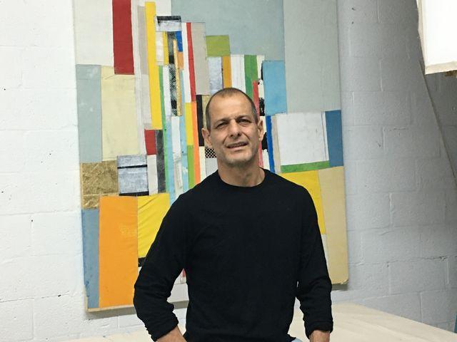 Artist Juan Raul Hoyos