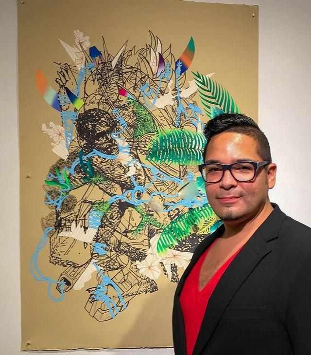 Artist David Rios Ferreira