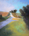 Iowa Farm Roads by Andrea Vardi
