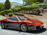 Red/Black F430 Ferrari by James E Caldwell III