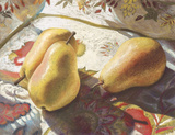 Golden Pears  by Carol Gunn