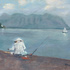 """Voggy"" Day for Fisherman with Chinese Hat, Kaneohe Bay and Kualoa, Oahu"